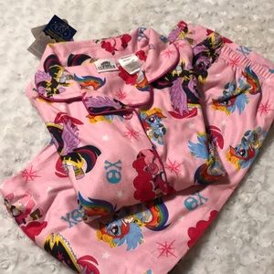 Pink my little pony pajamas